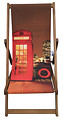 Red Phone Box Deck chair