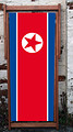 North Korea National Flag - World Cup Designer Deckchair