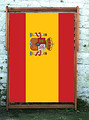 National FLag of Spain World Cup Designer Wideboy Deckchair