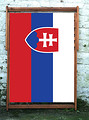 National Flag of Slovakia World Cup Designer Deckchair