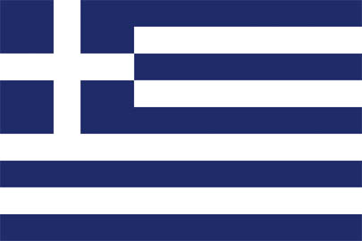Greece National Flag - World Cup deckchair designs